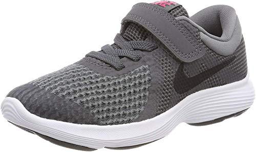 Nike Boys' Revolution 4 (PSV) Running Shoe, Dark Grey/Black