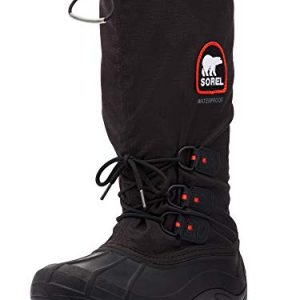 Sorel Men's Blizzard XT Snow Boot, Black/Red Quartz
