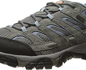 Merrell Women's Moab 2 Waterproof Hiking Shoe, Granite