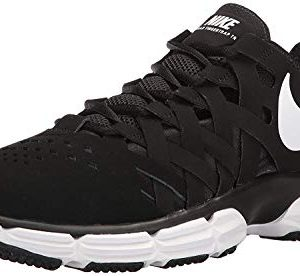 Nike Men's Lunar Fingertrap Trainer Cross, Black/White-Black
