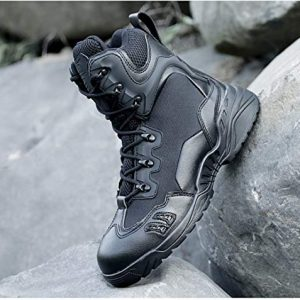 Winter Hiking Boots Men Tactical Combat Sneaker Shoes