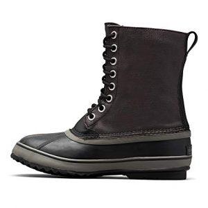 Sorel - Men's CVS Waterproof Winter Boot, Black/Quarry