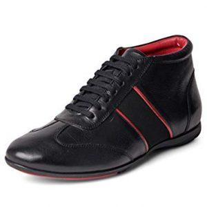 Carlos Santana Fleetwood Mid-Top Fashion Leather Sneaker Shoes
