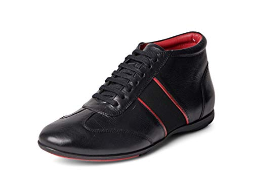 Carlos Santana Fleetwood Mid-Top Fashion Leather Sneaker Shoes