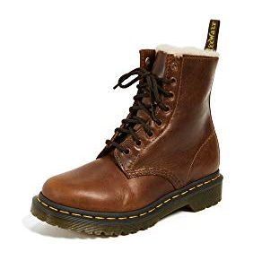 Dr. Martens Women's Serena Mid Calf Boot, Butterscotch