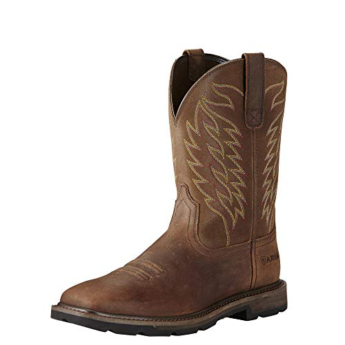 Ariat Work Men's Groundbreaker Work Boot, Brown