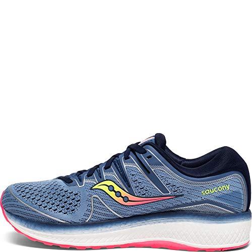 Saucony Women's Triumph ISO 5 Running Shoe, Blue/Navy Saucony Women's Triumph ISO 5 Running Shoe, Blue/Navy, 8 M US.