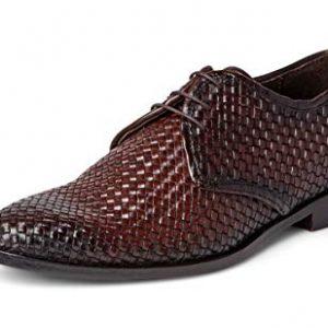 Carlos Santana Jazz Men's Designer Handwoven Oxford Dress Shoe