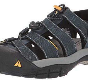 Keen Men's Newport H2 Sandal,Navy/Medium Grey