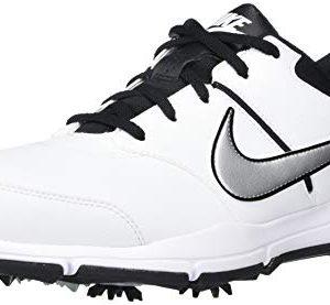 Nike Men's Durasport 4 (Wide) Shoe, White/Metallic Silver