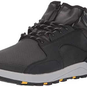 Etnies Men's Cyprus HTW X 32 Skate Shoe, Black/Grey/Yellow