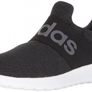 adidas Men's Lite Racer Adapt Running Shoe, Black/Black/Grey One