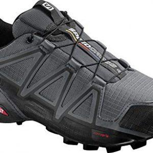 Salomon Men's Speedcross 4 Trail Runner, Dark Cloud