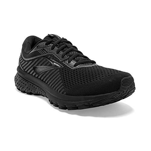 Brooks Mens Ghost 12 Running Shoe - Black/Grey