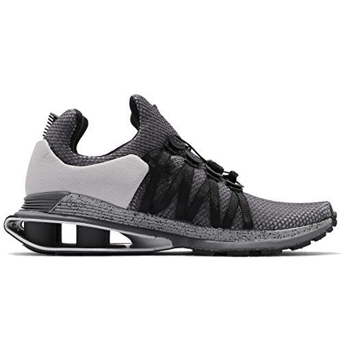 Nike Men's Shox Gravity Running Shoes-Atmosphere Nike Men's Shox Gravity Running Shoes-Atmosphere Grey/Black-8.5.