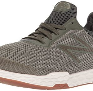 New Balance Men's Cross Trainer, Dark Covert Green/Silver Mink
