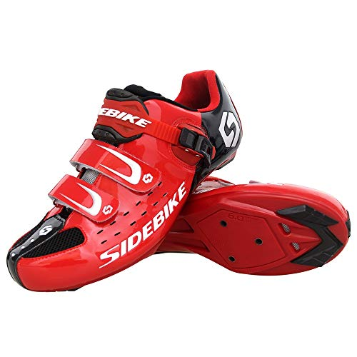 21Grams SIDEBIKE Men's Cycling Shoes,Breathable Cushioning Road Bike Shoes Gender: Men's