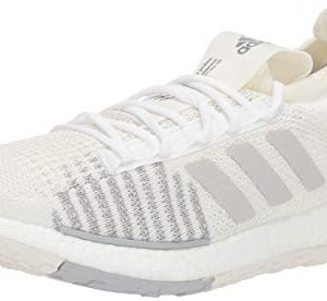 adidas Originals Men's PulseBOOST HD Running Shoe, White/Grey/Grey