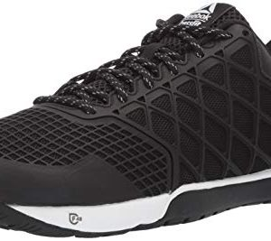 Reebok Men's CROSSFIT Nano 4.0 Cross Trainer, Black/White