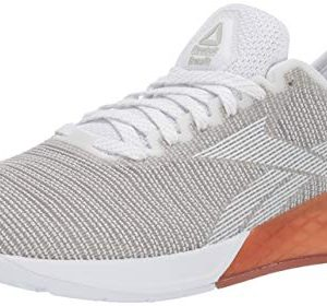Reebok Men's Nano Cross Trainer, White/Grey