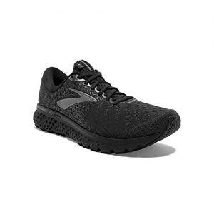 Brooks Mens Glycerin Running Shoe - Black/Ebony