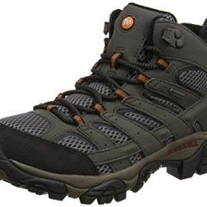 Merrell Men's High Rise Hiking Boots, Grey Beluga