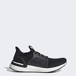 adidas Men's Ultraboost 19 Running Shoe, Black/Black/White