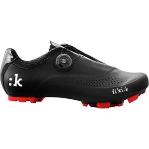 Fizik Uomo Boa Cycling Shoe - Men's Black-Red