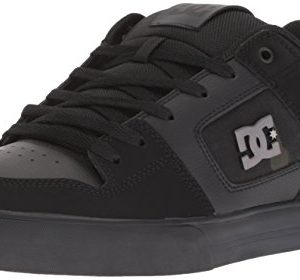 DC Men's Pure SE Skate Shoe, Black