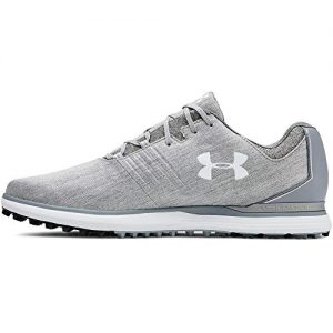 Under Armour Men's Showdown Sunbrella Golf Shoe, Overcast Gray