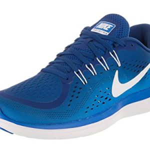 Nike Men's Flex 2017 Rn Gym Blue/White - Photo Ankle-High Running Shoe