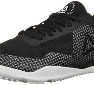 Reebok Men's Froning 1 Cross Trainer, Black/White/Skull Grey