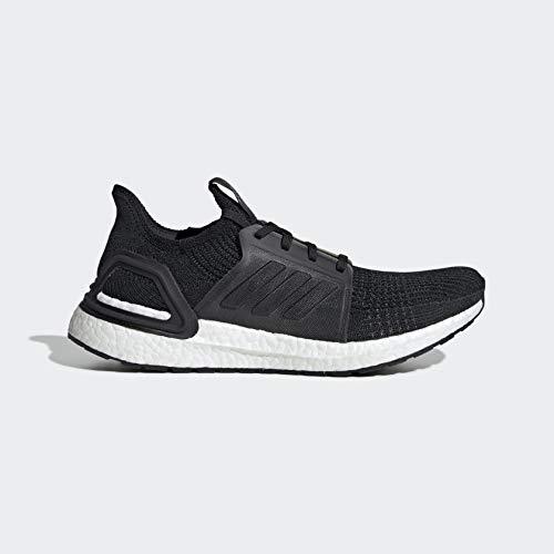 adidas Men's Ultraboost 19 Running Shoe, Black/Black/White adidas Men's Ultraboost 19 Running Shoe, Black/Black/White, 12 M US.