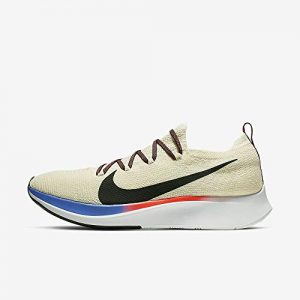 Nike Zoom Fly Flyknit Men's Running Shoe Light Cream/Black-Bright
