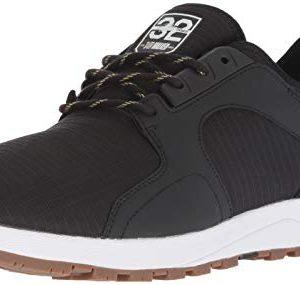 Etnies Men's Cyprus SCW X 32 Skate Shoe, Black/White/Gum