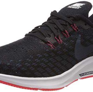 Nike Men's Air Zoom Pegasus Running Shoe Black/Armory Navy/Platinum Tint