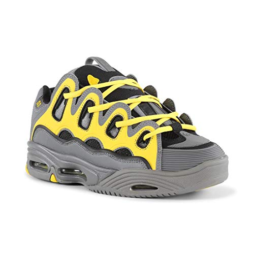 Osiris D3 2001 Charcoal/Yellow