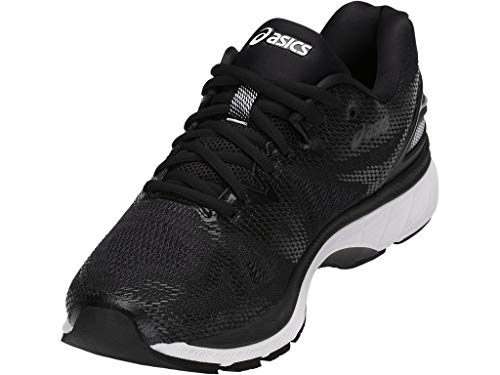 ASICS Men's Gel-Nimbus 20 Running Shoe, black/white/carbon ASICS Men's Gel-Nimbus 20 Running Shoe, black/white/carbon , 11 Medium US.