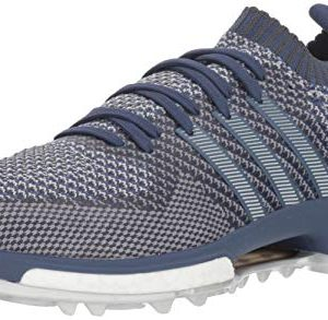 adidas Men's Tour Knit Golf Shoe Noble Indigo/Clear Bold Onix
