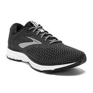 Brooks Mens Revel 2 Running Shoe - Black/Grey/Grey