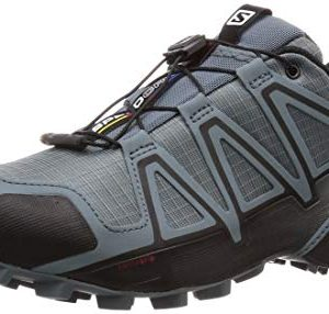 Salomon Men's Speedcross 4 Trail Running Shoes, Stormy Weather/Black/Stormy