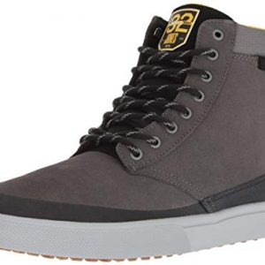 Etnies Men's Jameson Skate Shoe, Grey/Black/Yellow
