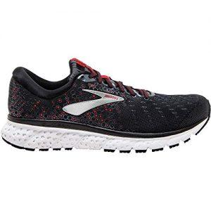 Brooks Men's, Glycerin 17 Running Sneaker Black/RED