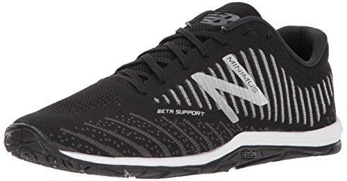New Balance Men's Minimus Training Shoe, Black/White
