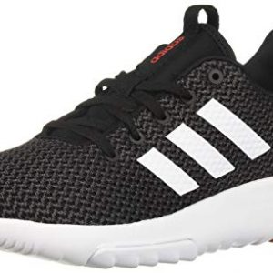 adidas Men's CF Racer TR Running Shoe, Black/White/hi-res red