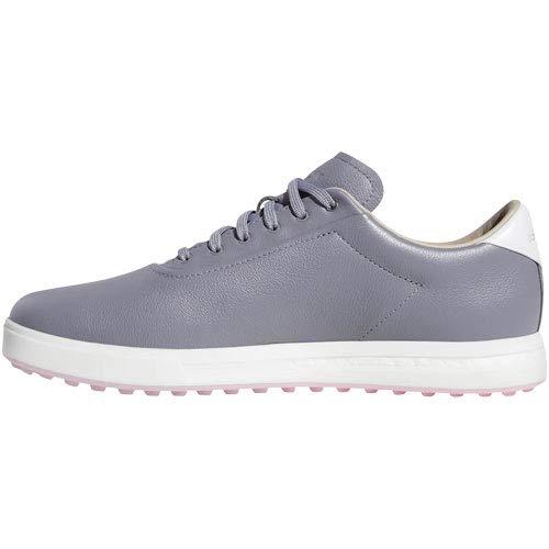 adidas Men's Adipure SP Golf Shoe Grey/FTWR White/True adidas Men's Adipure SP Golf Shoe Grey/FTWR White/True Pink 12 M US.