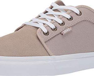 Vans Mens Chukka Low Skateboard Sneaker Humus/True White