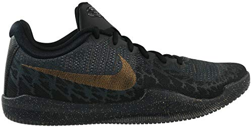 Nike Men's Mamba Rage Basketball Shoes Black/Metallic