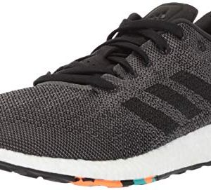 adidas Men's Pureboost DPR Running Shoe, Black/Black/Grey