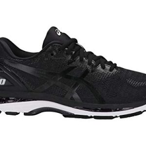 ASICS Men's Gel-Nimbus Running Shoe, black/white/carbon